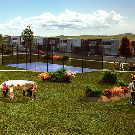 Fraccionamiento Rivieras con casas en venta en guadalupe nuevo leon