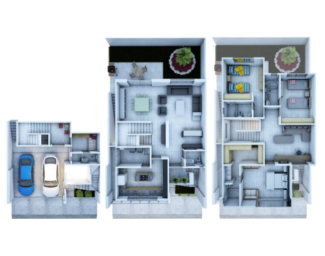 casas en venta en cumbres en fraccionamiento privado
