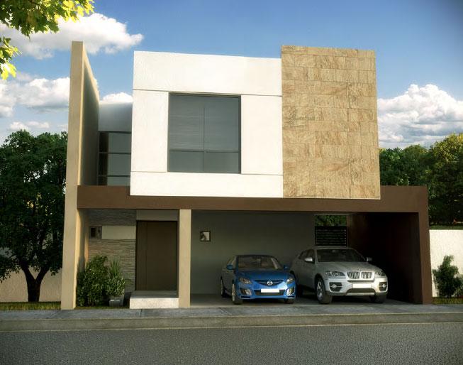 Fraccionamientos en monterrey casas para disfrutar vidusa for Modelos de casas minimalistas pequenas